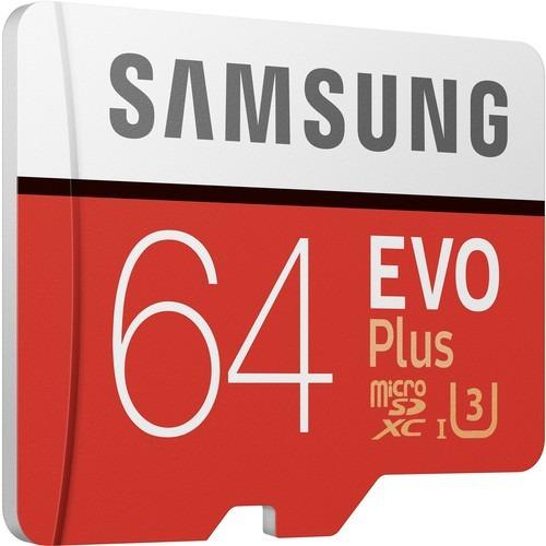 memoria samsung64gb evo+ 4k microsdxc env gratis gtia