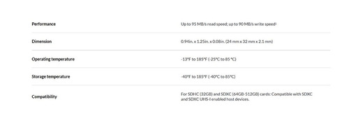 memoria sandisk extreme pro 64gb sdhc uhs-i