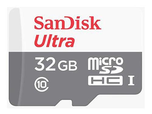 memoria sandisk micro sd+adapt 32gb android 80 mbs