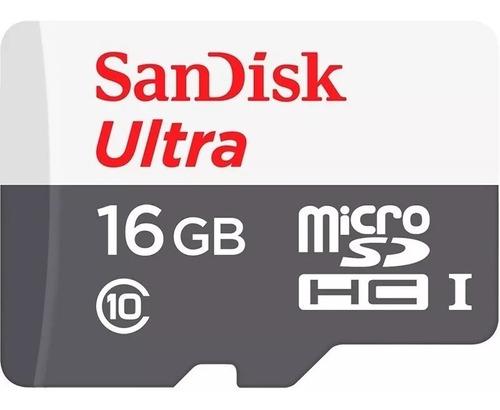 memoria sandisk micro sd hc ultra 16gb clase10