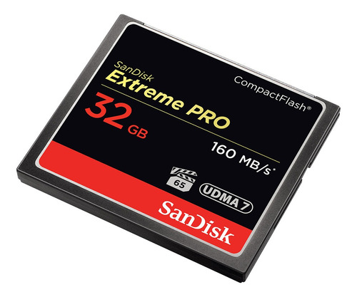 memoria sandisk original sdcfxps-032g-x46 compactflash 32 gb