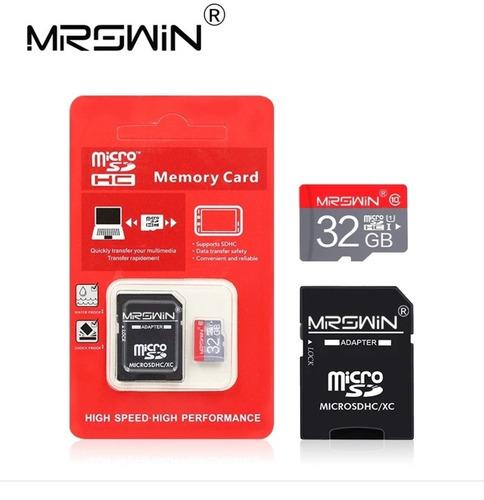 memoria sd 32 gb  clase 10 con adaptador