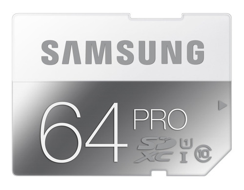 memoria sdhc 64 gb profesional samsung pro clase 10 /90mb
