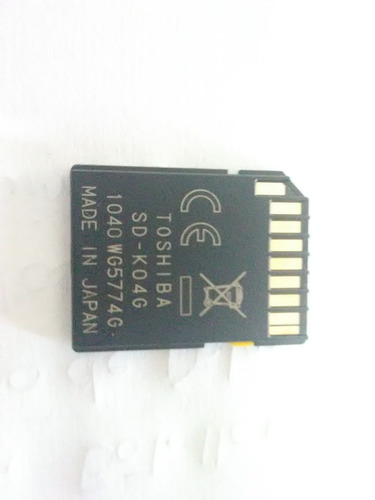 memoria sdhc camara digital 4gb