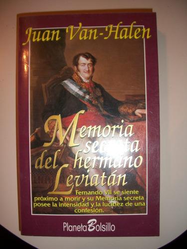 memoria secreta del hermano leviatan/juan van-halen z16