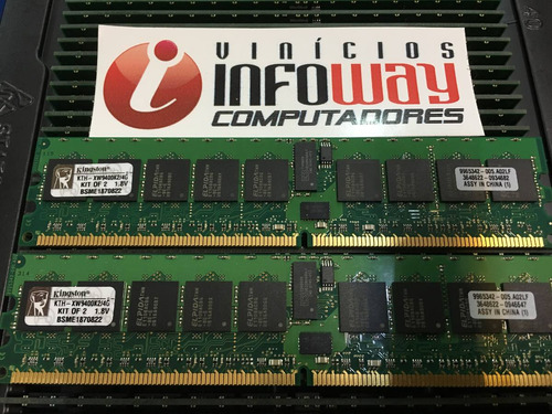 memoria servidor 2gb ddr2 ecc pc2-5300r hp proliant ml150 g5