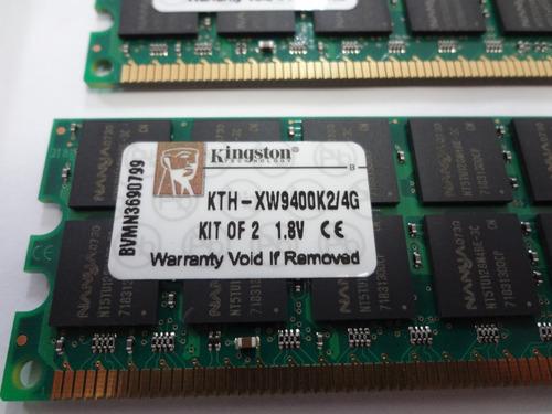 memoria servidor 2gb pc2-5300r kingston kth-xw9400k2/4g hp