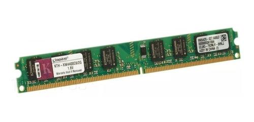 memoria servidor hp dell 2 gb kth-xw4400e6/2g
