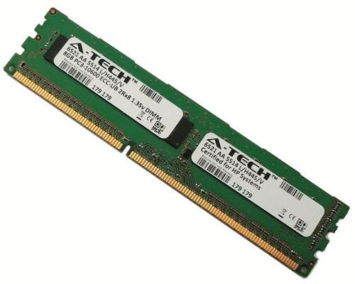memoria servidor hp proliant 8gb 2rx8 ddr3 pc3-10600 1333m u