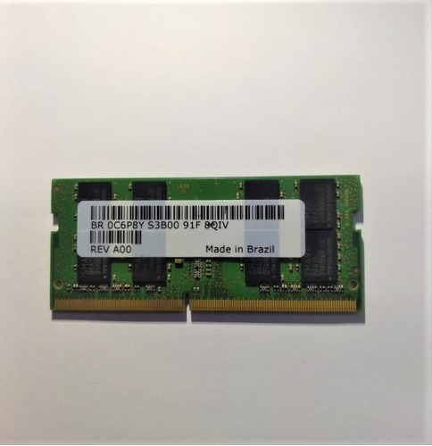 memoria smart 8gb para notebook ddr4 pc4-2400t-se1-11 2rx8