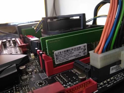 memória smart ddr4 4x4gb = 16gb 2400mhz
