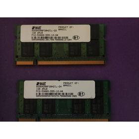 Memória Smart P/ Notebook 1gb Ddr2 667mhz 2rx8 Pc2-5300s