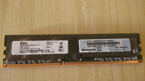 memória smart pc3 8500u 355mhz