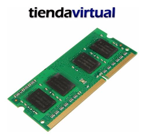 memoria sodimm 8gb ddr3 para notebook 1600 mhz lv garantia