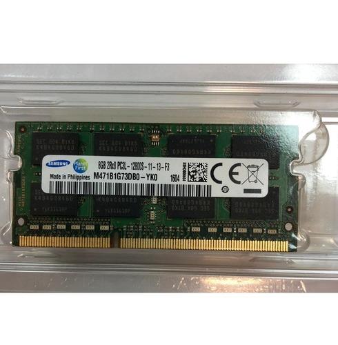 memoria sodimm 8gb ddr3 para notebook 1600 mhz lv  smal lan
