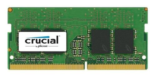 memoria sodimm crucial 4gb ddr4 2400 mhz lenovo hp mac gtia!