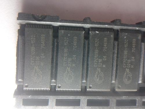 memoria sram smd32 de 128kx8 bits cy7c109b de 15ns