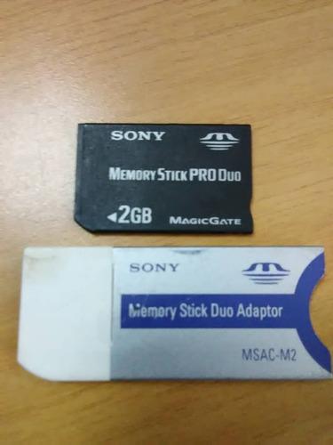 memoria stick pro duo 2gb