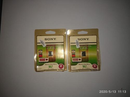memoria sticky m2 2gb - original sony