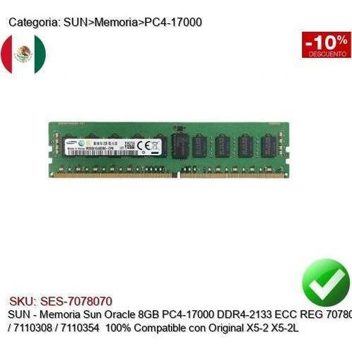 memoria sun 8gb pc4-17000 ddr4-2133 x5-2/l 7078070/7110308