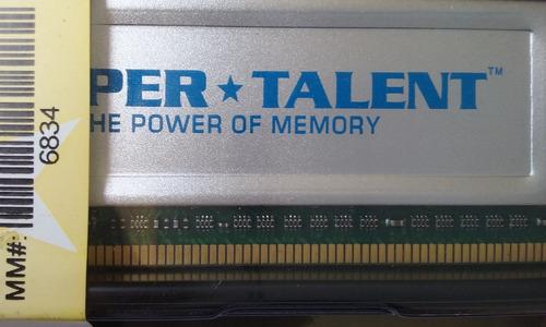 memoria super talent dd -333    ddr2    ddr-400  de 512mb