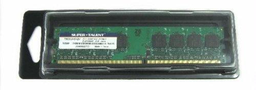 memoria super talent ddr2-800 512 mb/64x8 value memory