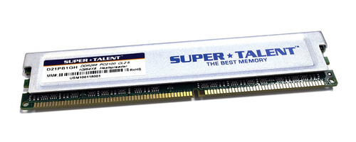 memoria super talent ddr266 1gb/64x8 cl2.5 16-channel