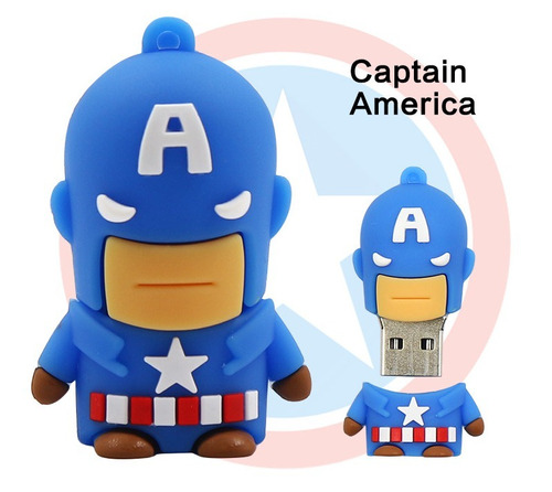 memoria superheroe + adaptador otg