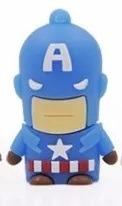 memoria usb 16gb figuras vengador  superheroes