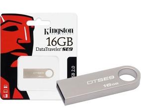 Memoria USB 16 GB Plata 3  piezas Kingston DataTraveler SE9 -DT100G3//16GB-3P