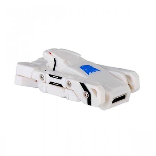 memoria usb 16gb transformer dog blanco