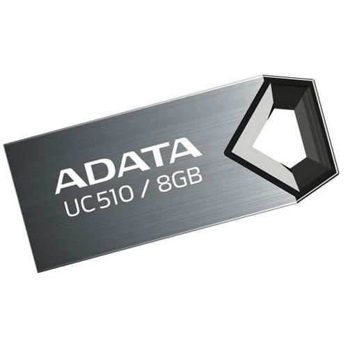 memoria usb 2.0 uc510 8gb titanium adata me-ada-8gc510s upc: