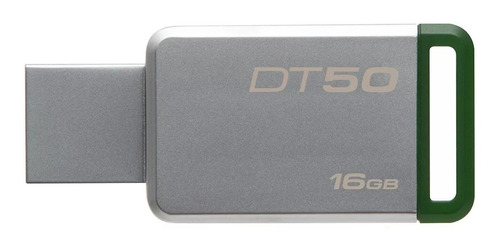 memoria usb 3.0 kingston 16 gb metal dt50 factura legal