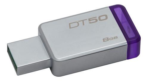 memoria usb 3.0 kingston dt50 8gb 100% original garantizada