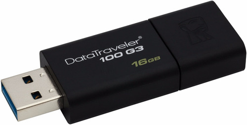 memoria usb 3.1 3.0 2.0 16 gb kingston datatraveler dt100g3