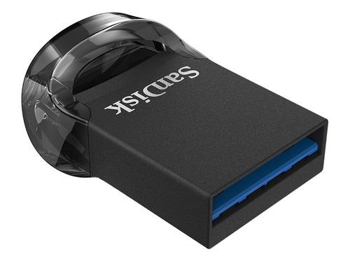 memoria usb 3.1 sandisk ultra fit micro 256gb 130mb/s