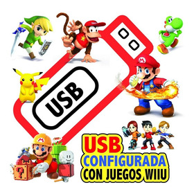 Memoria Usb 32 Gb* Juegos Wii U (100% Seguro) Cali