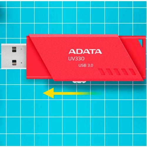 memoria usb 32gb 3.1 adata uv330 flash drive retractil nueva