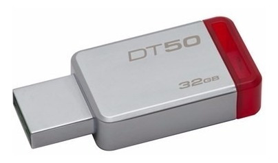 memoria usb 32gb kingston 3.0 dt50 datatraveler metalica