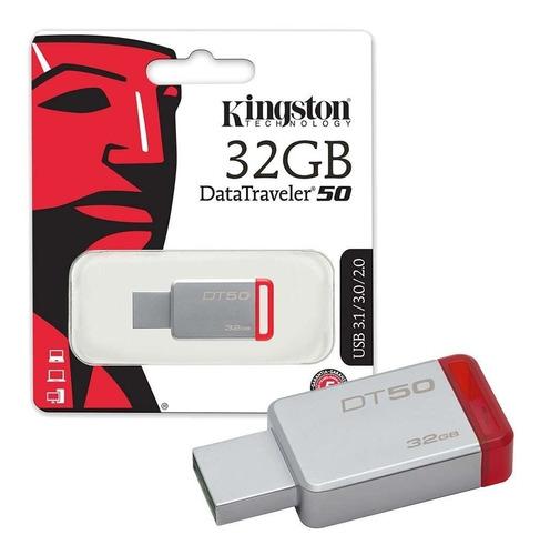 memoria usb 32gb kingston 3.0 garantia 1 año promo original