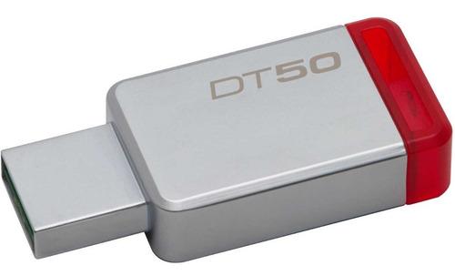 memoria usb 32gb metalica kingston dt50 usb 3.1 dt50/32gb
