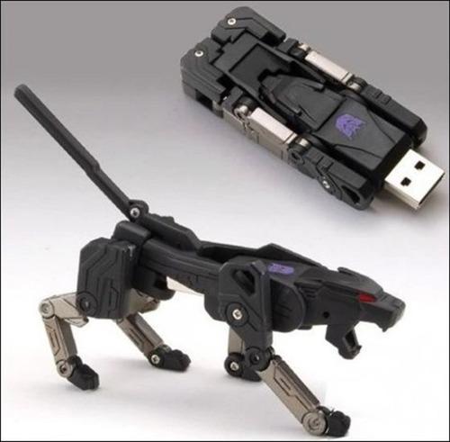 memoria usb 32gb  transformer dog, excelente regalo