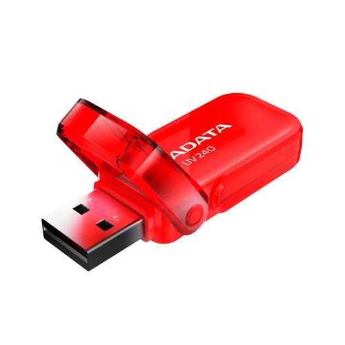memoria usb 8gb 2.0 adata uv240 manejamos mayoreo roja