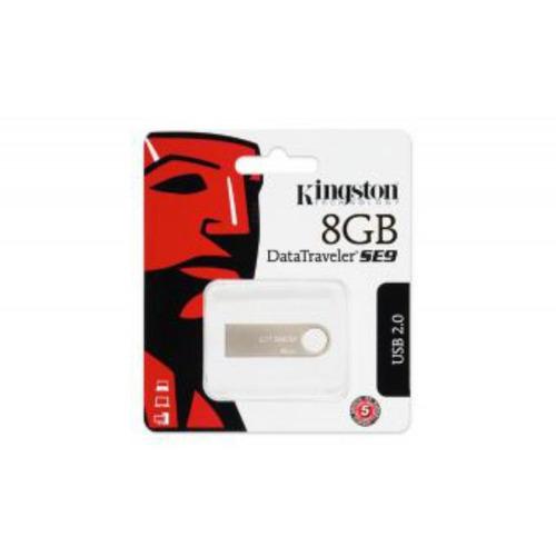 memoria usb 8gb kingston datatraveler se9 - plateado