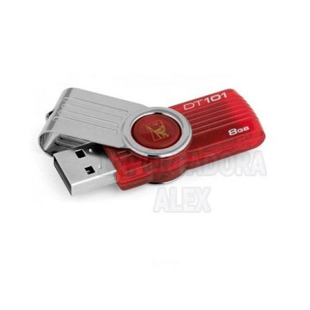memoria usb 8gb kingston dt109 original nuevo modelo ligera