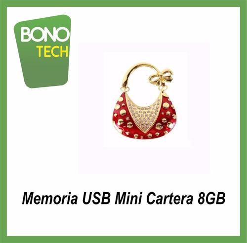 memoria usb 8gb mini cartera