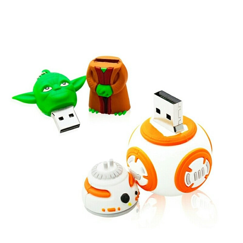 memoria usb bb8 16 gb star wars