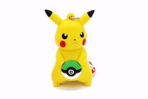 memoria usb de pikachu 16gb oferta imperdible!!