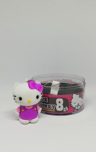 memoria usb hello kitty 8gb, 16gb nuevo con tienda