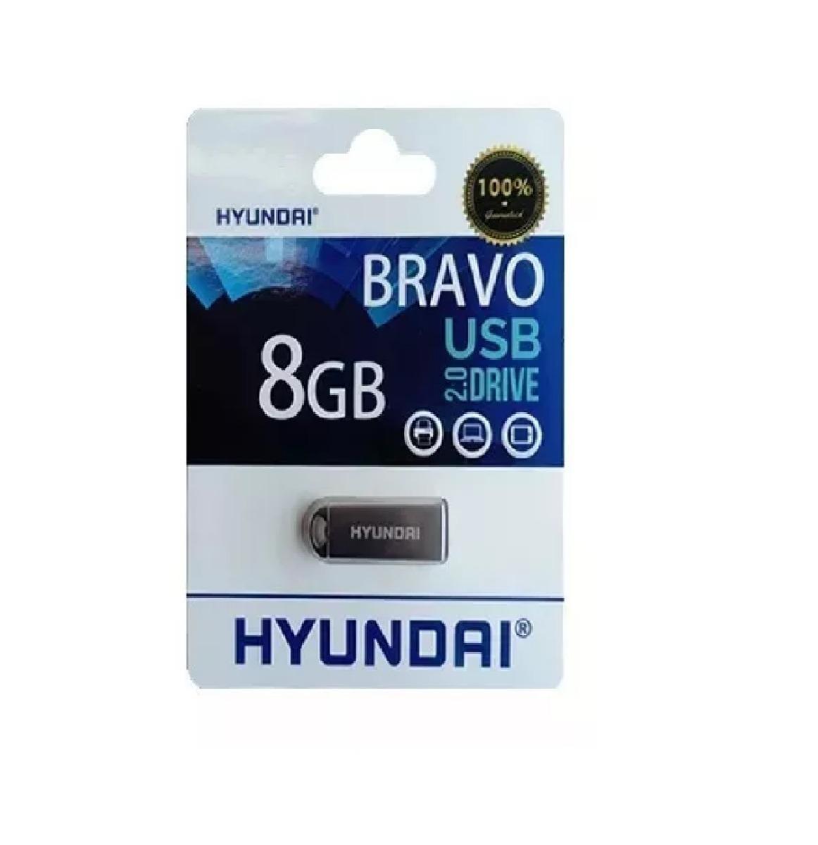 58f9a701c26183 memoria usb hyundai 8gb bravo keychain 2.0 plata metalica. Cargando zoom.
